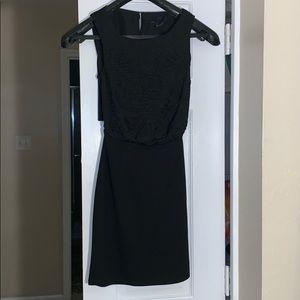 H & M STUNNING OPEN BACK LITTLE BLACK DRESS!!
